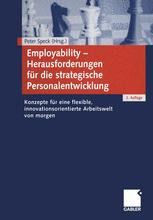 Employability — Herausforderungen für die strategische Personalentwicklung