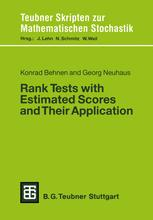 Rank Tests with Estimated Scores and Their Application