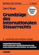 Grundzüge des Internationalen Steuerrechts