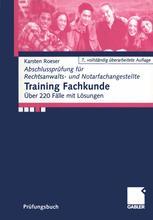 Training Fachkunde