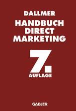 Handbuch Direct Marketing