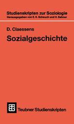 Sozialgeschichte für soziologisch Interessierte