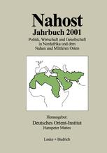 Nahost Jahrbuch 2001