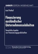 Finanzierung ausländischer Unternehmenseinheiten