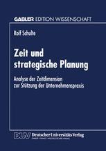 Zeit und strategische Planung