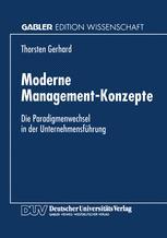 Moderne Management-Konzepte