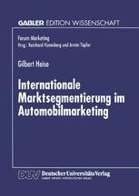 Internationale Marktsegmentierung im Automobilmarketing