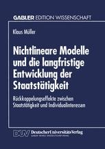 Nichtlineare Modelle und die langfristige Entwicklung der Staatstätigkeit