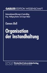 Organisation der Instandhaltung