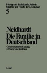 Die Familie in Deutschland