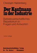 Der Kaufmann in der Industrie