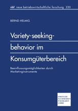 Variety-seeking-behavior im Konsumgüterbereich