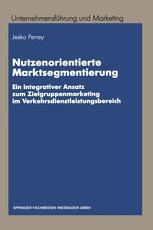 Nutzenorientierte Marktsegmentierung
