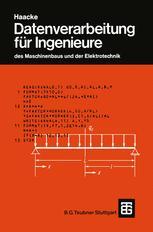 Datenverarbeitung für Ingenieure