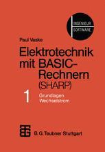 Elektrotechnik mit BASIC-Rechnern (SHARP)