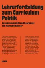 """Lehrerfortbildung zum Curriculum """"Politik"""""""
