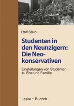 Studenten in den Neunzigern: Die Neokonservativen