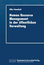Human Resource Management in der öffentlichen Verwaltung