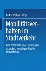 Mobilitätsverhalten im Stadtverkehr