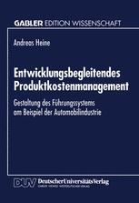 Entwicklungsbegleitendes Produktkostenmanagement