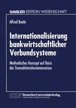 Internationalisierung bankwirtschaftlicher Verbundsysteme