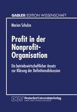 Profit in der Nonprofit-Organisation