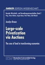 Large-scale Privatization via Auctions