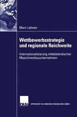 Wettbewerbsstrategie und regionale Reichweite