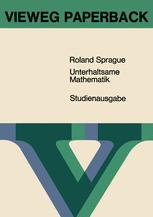 Unterhaltsame Mathematik