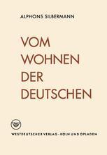 Vom Wohnen der Deutschen