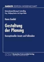 Gestaltung der Planung