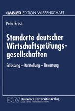 Standorte deutscher Wirtschaftsprüfungsgesellschaften
