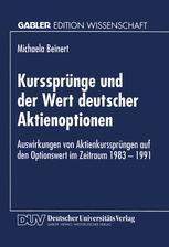 Kurssprünge und der Wert deutscher Aktienoptionen
