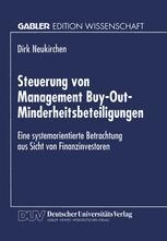 Steuerung von Management Buy-Out-Minderheitsbeteiligungen