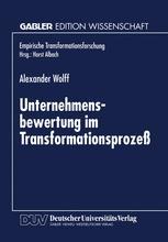 Unternehmensbewertung im Transformationsprozeß