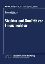 Struktur und Qualität von Finanzmärkten