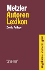 Metzler Autoren Lexikon