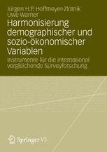 Harmonisierung demographischer und sozio-ökonomischer Variablen
