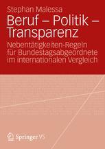 Beruf – Politik – Transparenz
