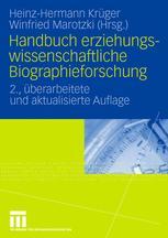 Handbuch erziehungswissenschaftliche Biographieforschung
