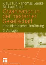 Organisation in der modernen Gesellschaft