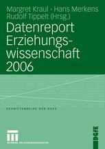 Datenreport Erziehungswissenschaft 2006