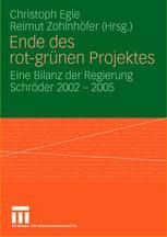 Ende des rot-grünen Projektes