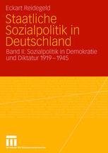 Staatliche Sozialpolitik in Deutschland