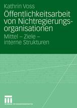 Öffentlichkeitsarbeit von Nichtregierungsorganisationen