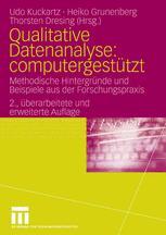 Qualitative Datenanalyse: computergestützt