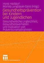 Gesundheitsprävention bei Kindern und Jugendlichen