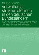 Verwaltungs-strukturreformen in den deutschen Bundesländern