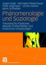 Phänomenologie und Soziologie