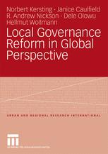 Local Governance Reform in Global Perspective